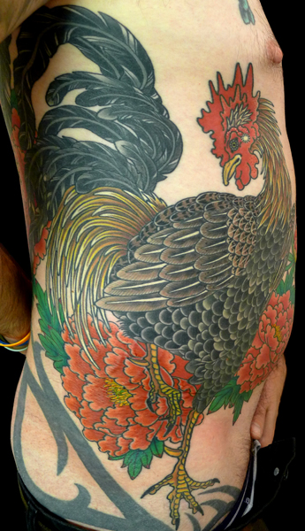 TODAY'S WORK BY KANAE - FINISHED ROOSTER