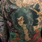 Todays work  - Kumonryu backpiece progress by Kanae