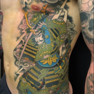 Todays work by Kanae - Samurai in progress