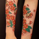 Todays work - Sakura by Kanae at Invisible NYC