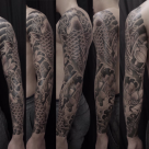 Todays work - Koi sleeve by Ky