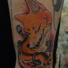 Todays work - Kitsune by Ky