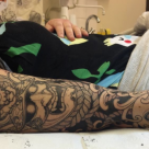 Todays work - progress on 3/4 sleeve by Ky
