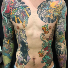 Todays work - Sleeves and ribs by Kanae
