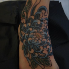 Todays work - Chrysanthemum on foot Ky