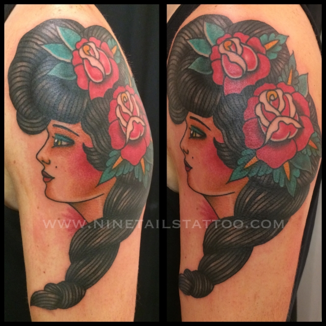TODAY'S WORK BY CHRIS - BEAUTIFUL LADY.