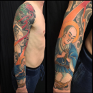 Todays work by Kanae - The story or Nichiren, sleeve