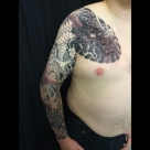 Kanae@London/Dragon sleeve and chest. Almost complete!